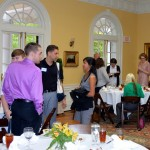 Students at Mayes Award Luncheon held in the Colonnade Club
